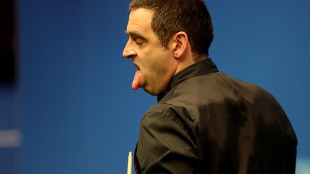 Ronnie O'Sullivan si inventa un colpo di retro spettacolare allo Shanghai Masters