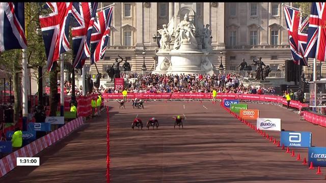 Brilliant Weir claims eighth London Marathon title