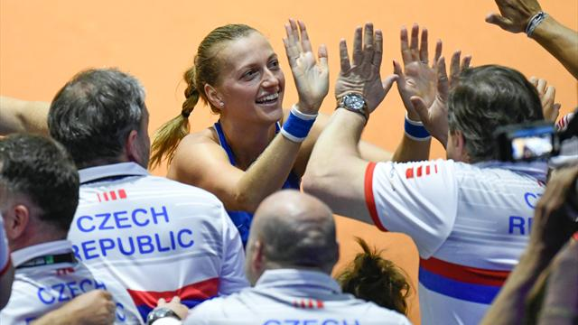 Estados Unidos y República Checa superan a Francia y Alemania y jugarán la final