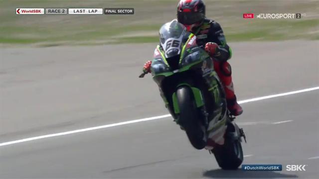 Tom Sykes dominates race 2 in Assen