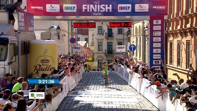 Simion wins final stage in Croatia