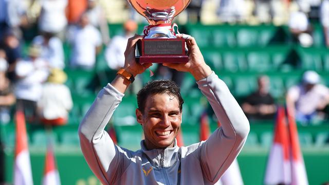 Nadal wins record 11th title in Monaco