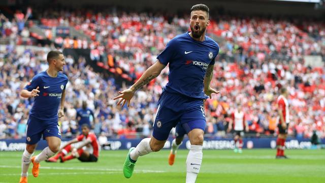 Giroud débloque le compteur, Morata termine le travail : Chelsea est en finale