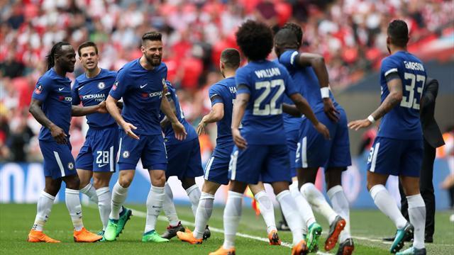 Chelsea klart för FA-cupfinal - ställs mot United