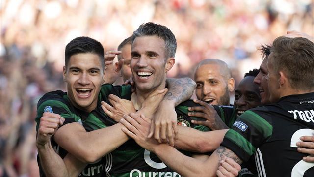 Van Persie goal helps Feyenoord to Dutch Cup triumph
