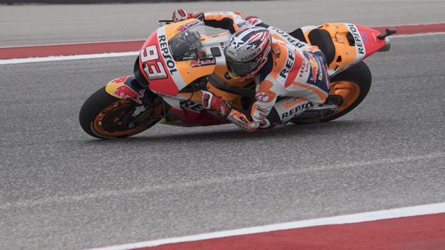 Marquez reste invincible à Austin
