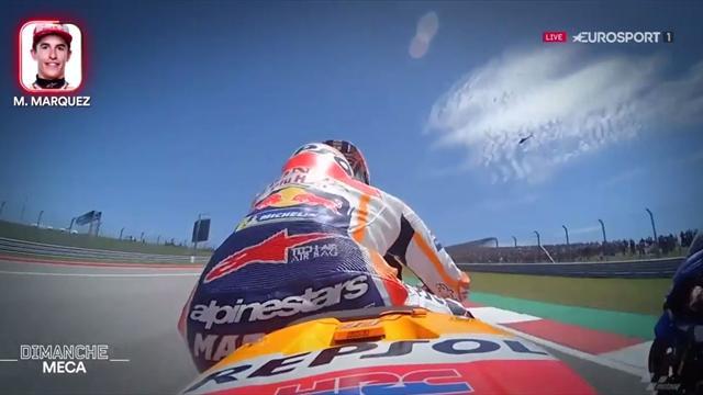 Moto GP: Onboard met Márquez, Viñales en Dovizioso