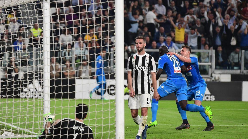 Resultado de imagen de Juventus 0 - 1 Nápoles