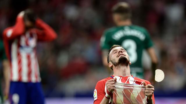 Atletico held by Betis, Las Palmas down