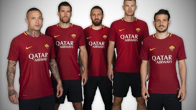 Cinq ans après, l'AS Roma retrouve un sponsor maillot