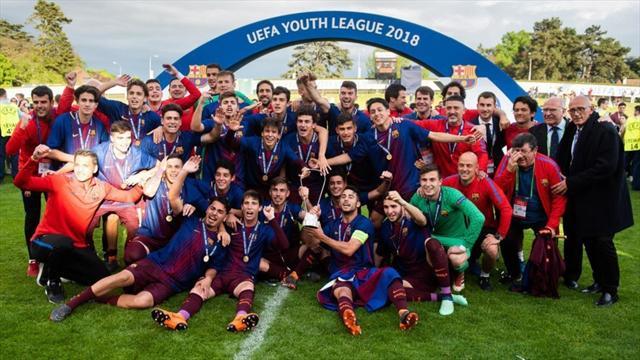 Quatre ans après, le Barça remporte sa deuxième Youth League