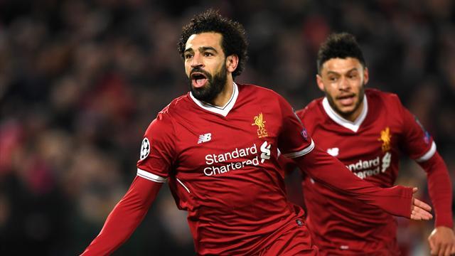 Pépite de Salah, doublé de Firmino, reprise de Dzeko : Les buts de Liverpool-Roma (5-2) en vidéo