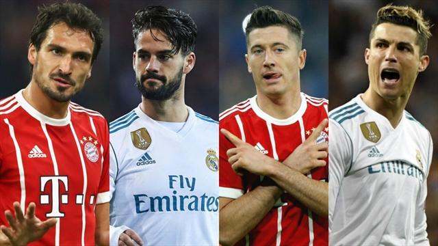 Hummels, Isco, Lewandowski, Ronaldo… Votre 11 ultime avant Bayern – Real