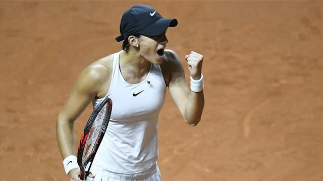 Garcia sort Sharapova — Stuttgart