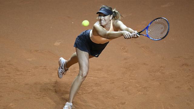 Sharapova continue de grimper