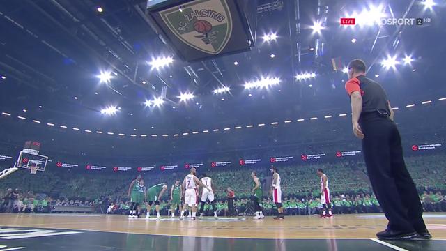 Highlights: Zalgiris Kaunas 80-60 Olympiacos Pireo
