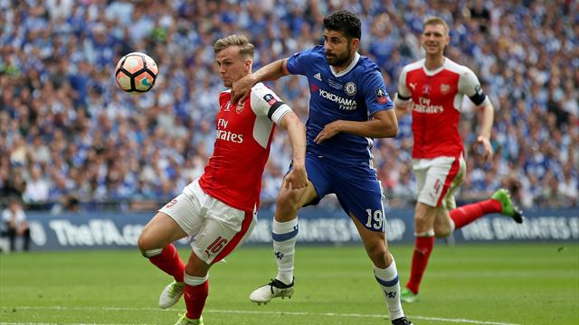 Europa League: Atletico Madrid confirm Diego Costa will miss Arsenal clash
