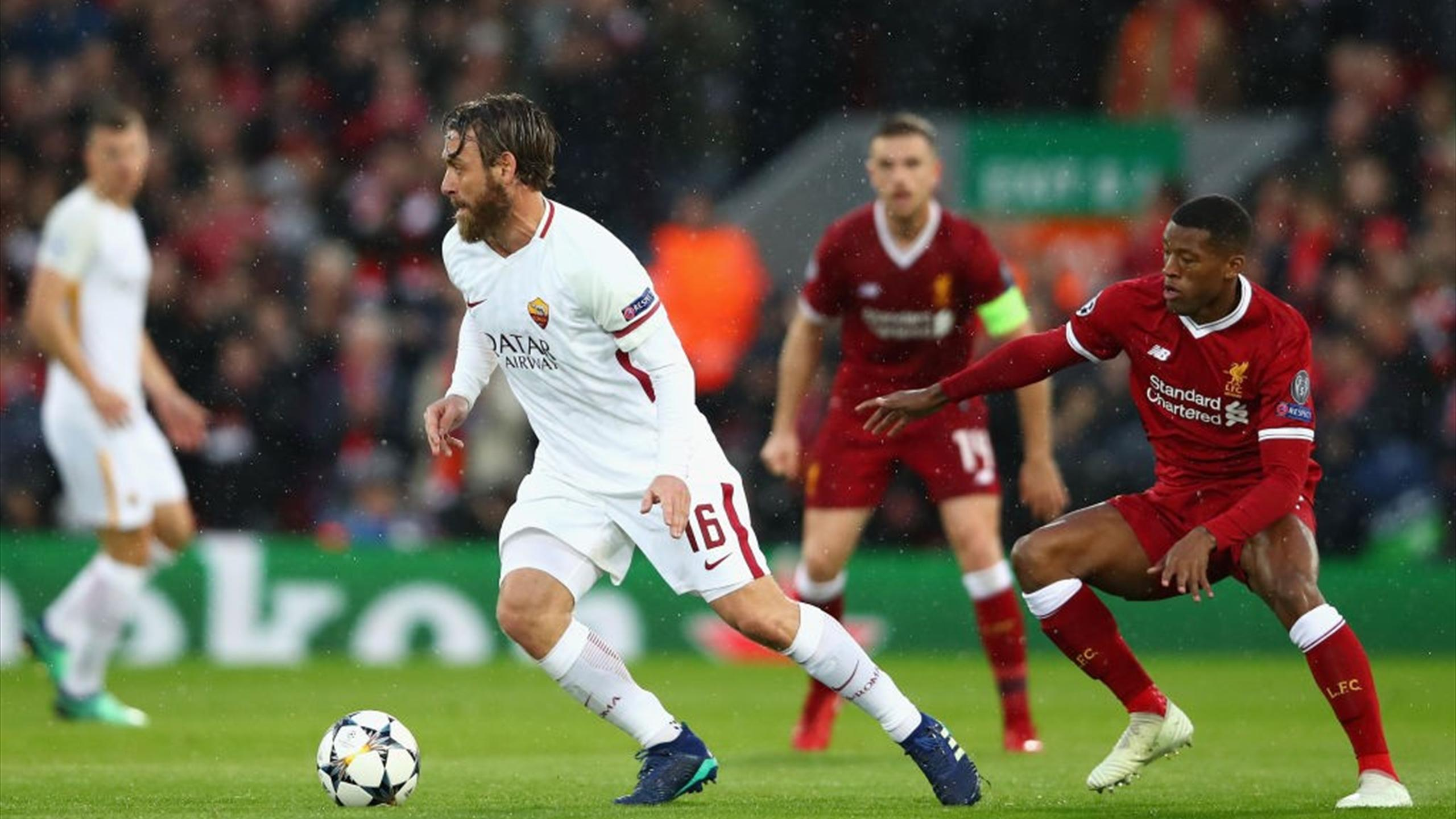 Roma Liverpool Live