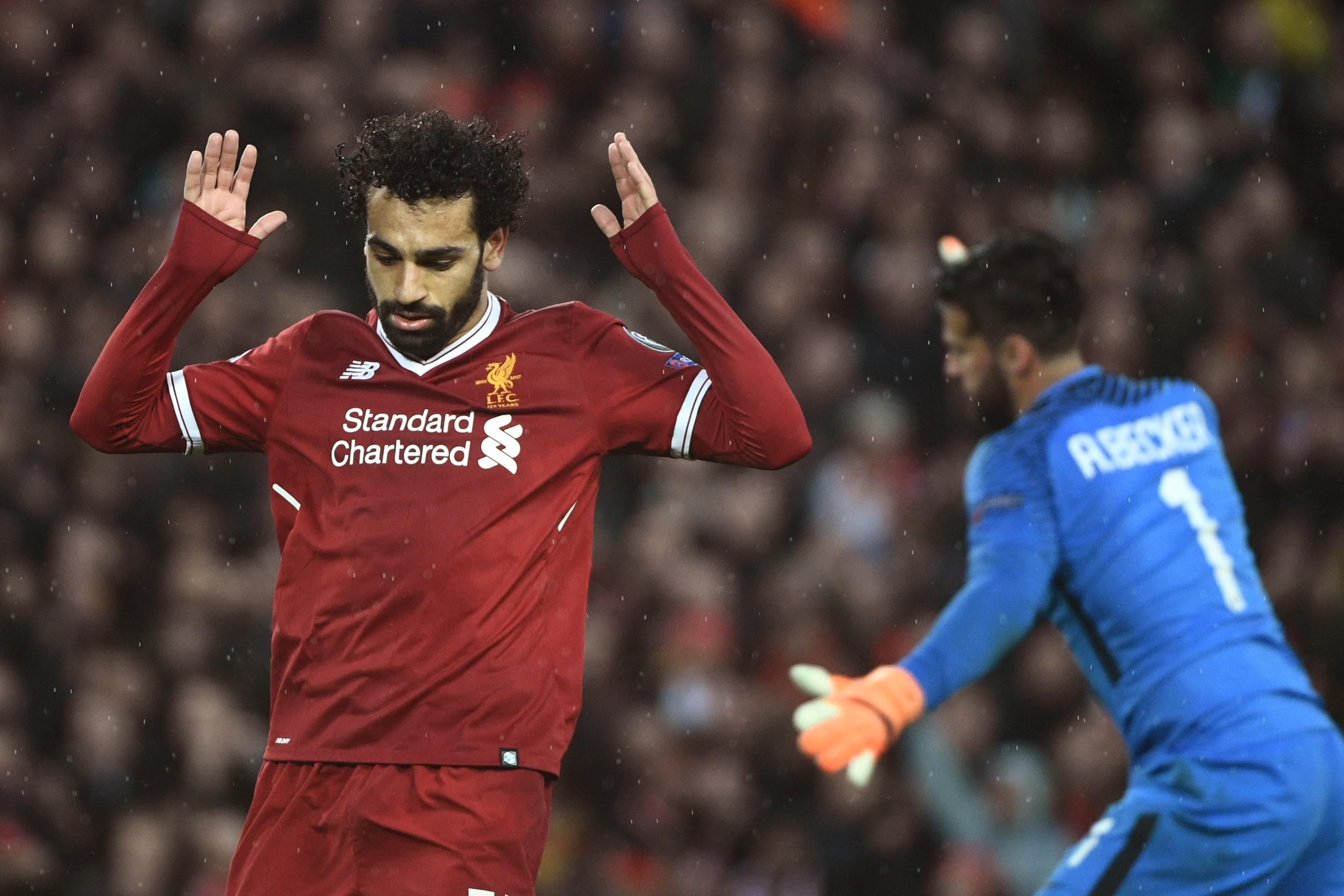 Мохамед Салах, «Ливерпуль» – «Рома»