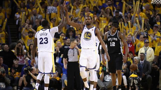 La brouille entre Durant et Green peut-elle faire vaciller les Warriors ?