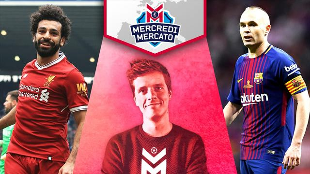 Quel avenir pour Salah ? Iniesta au PSG ? On en parle à 13h dans Mercredi Mercato
