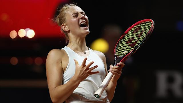 Свитолина вышла в ¼ теннисного турнира вШтутгарте