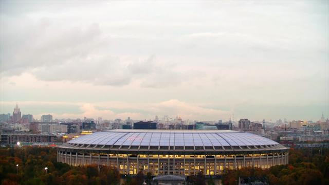 Luzhniki stadium presented ahead of World Cup in Russia