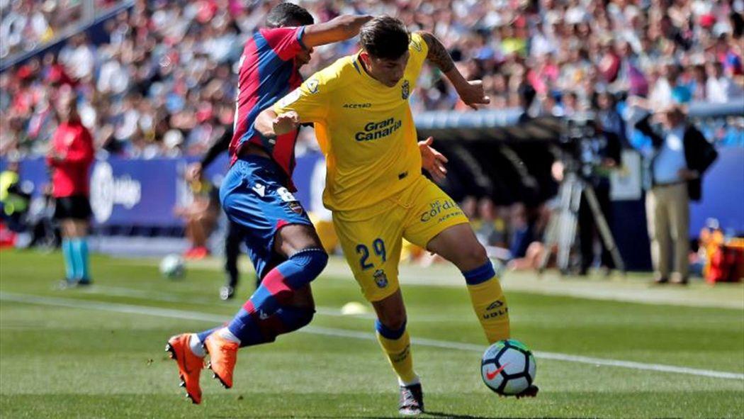 Resultado de imagen de Expósito, duda en la UD Las Palmas para la intrascendente visita al Espanyol