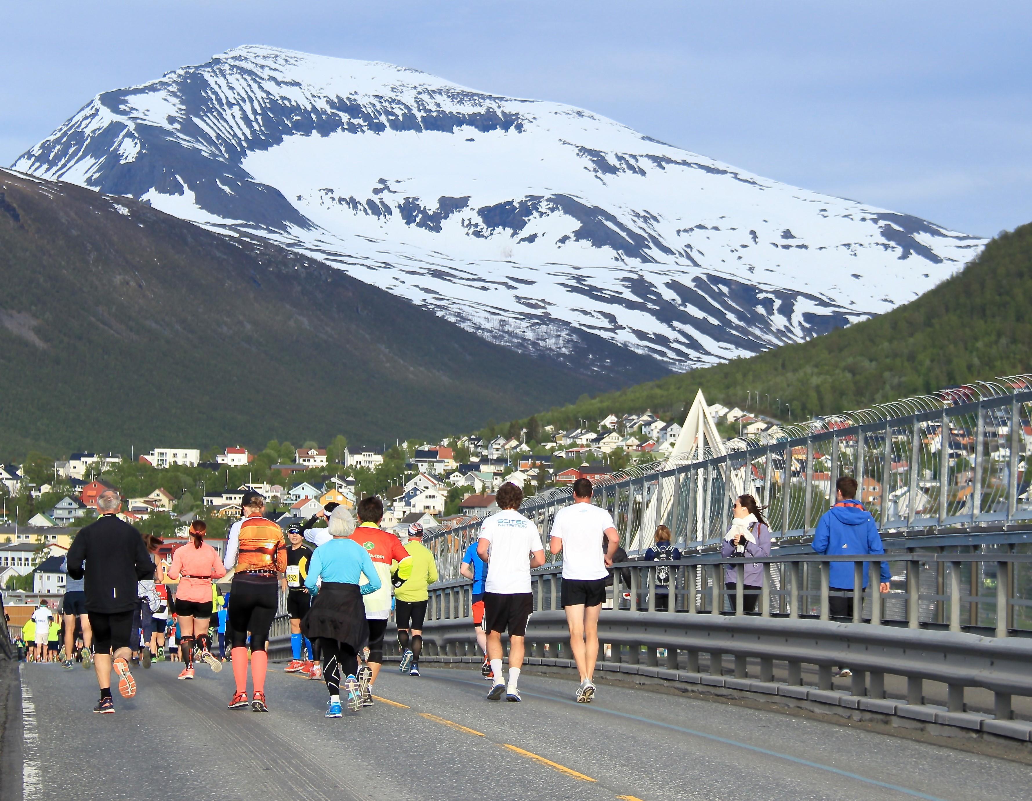 Midnight Sun Marathon (Credit: Truls Tiller)