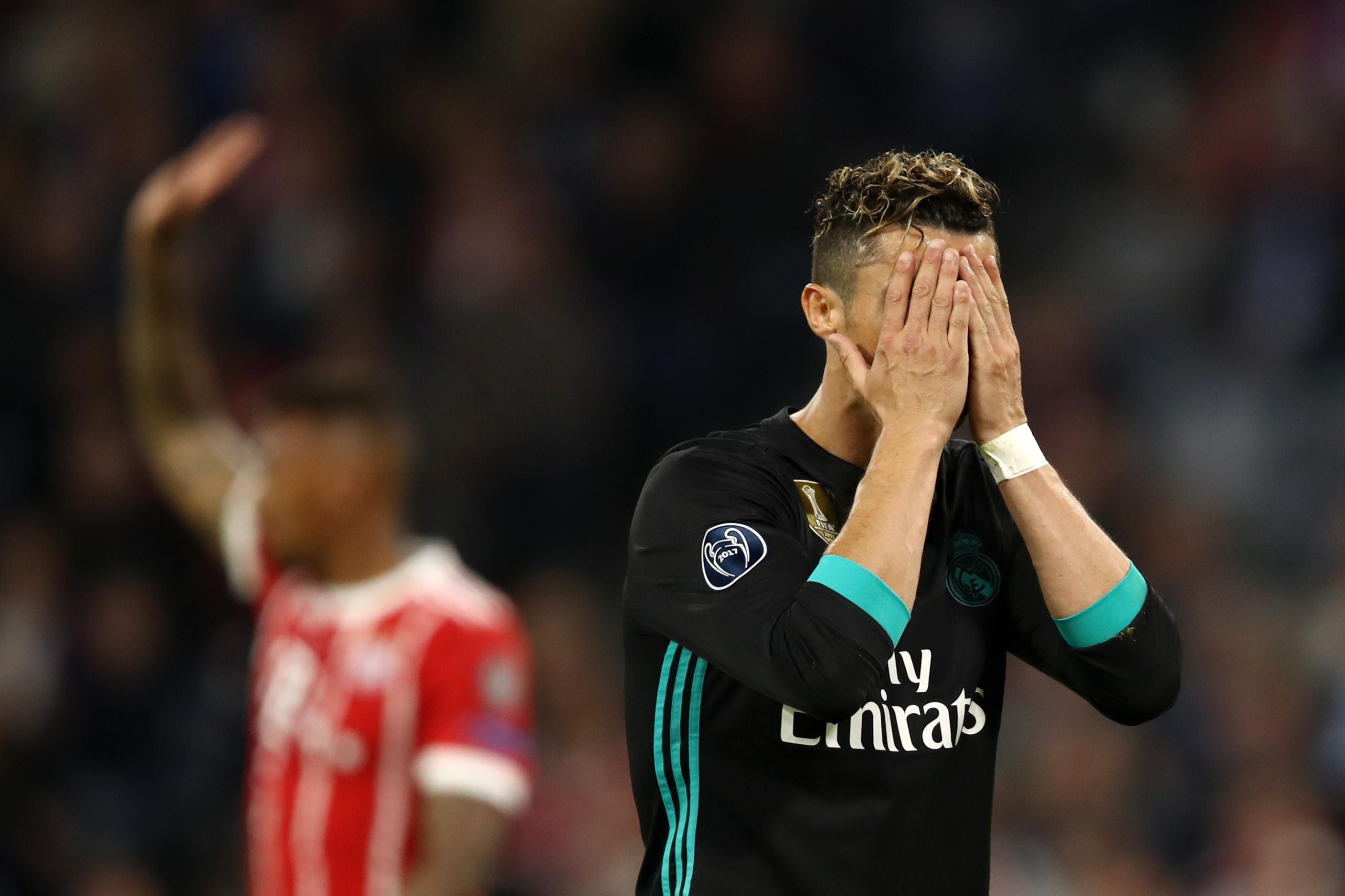 Криштиану Роналду, «Реал» – «Бавария»