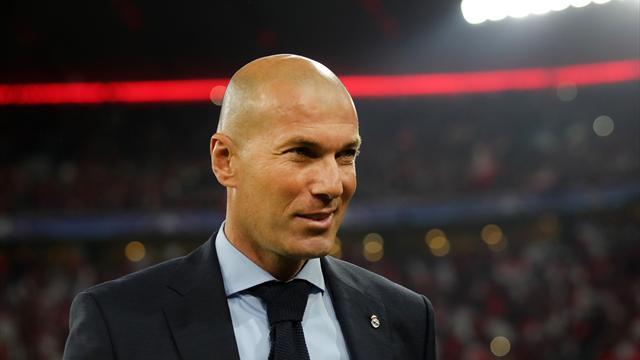 """Zidane : """"Ce n'est jamais fini, encore moins après le match contre la Juve"""""""