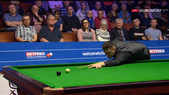 Day lights up the Crucible with a 145 break