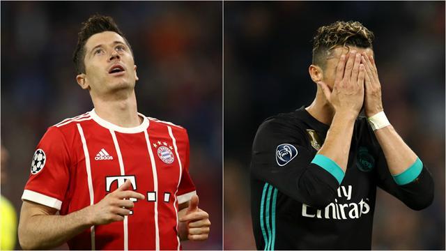 Attendus, Cristiano Ronaldo et Lewandowski sont tous les deux passés à côté