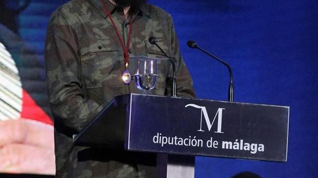 Regino Hernández, premiado en Día de Málaga por su compromiso con el deporte
