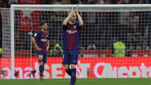 Iniesta: Esta es mi última temporada en Barcelona