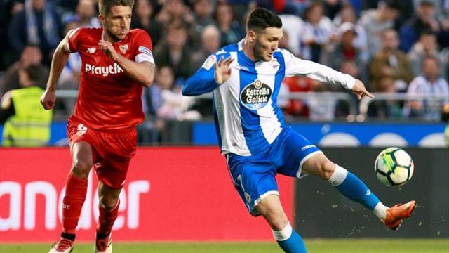 Así ovacionaron a Andrés Iniesta en Riazor — Barcelona campeón