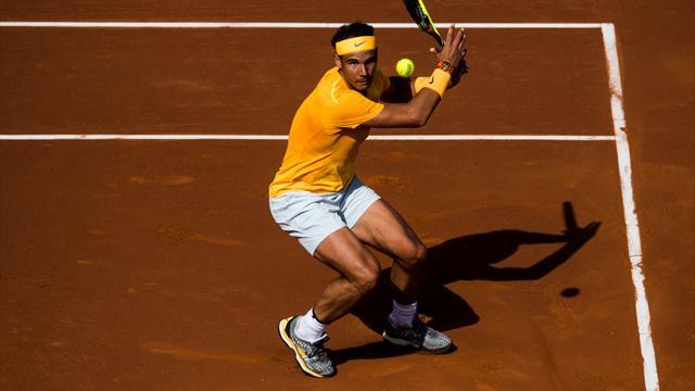 Nadal s'est fait une petite frayeur mais conserve son invincibilité sur terre