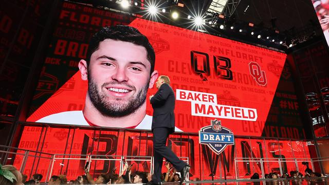Browns get QB, Giants select RB Barkley to open NFL draft