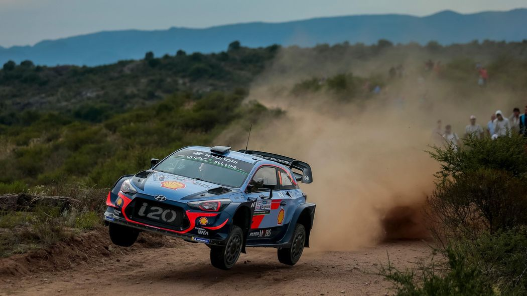 Thierry Neuville fastest on Argentina opener - Rally Argentina 2018 ...