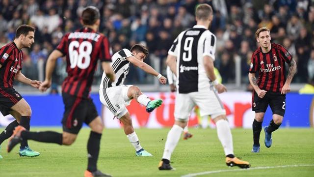 Higuaín hizo delirar a la Juventus en el final
