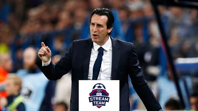Si libera la panchina del PSG, Emery: