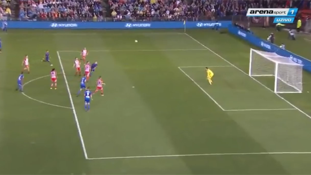 Игрок «Брюгге» забил гол «ударом скорпиона» вчемпионате Австралии
