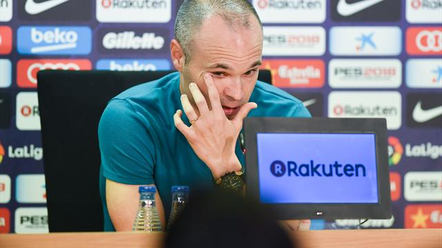 From Spain: Iniesta to announce Barcelona exit tomorrow