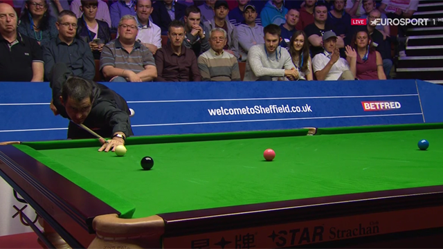 WATCH: O'Sullivan secures second century as he fights back against Carter
