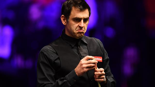 Barge controversy as O'Sullivan loses to Carter