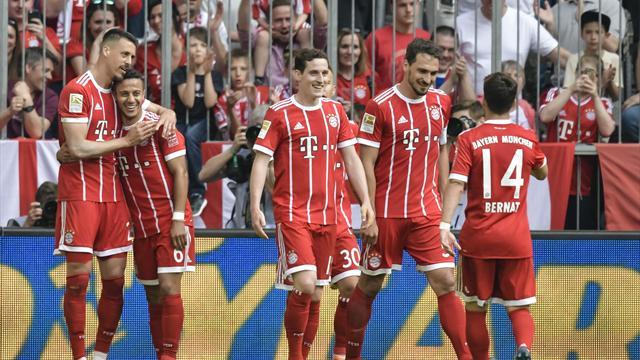 Bundesliga, Bayern Múnich-Eintracht Frankfurt: Goleada antes de buscar el milagro (4-1)