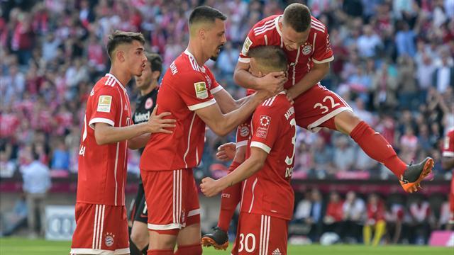 Bayerns C-Elf schießt Kovac' Eintracht ab