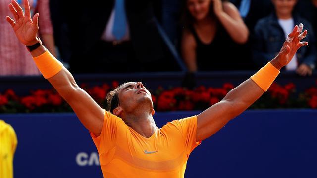 ATP 500 Barcelona: Nadal, a la final tras barrer a Goffin en su victoria 400 en tierra (6-4 y 6-0)