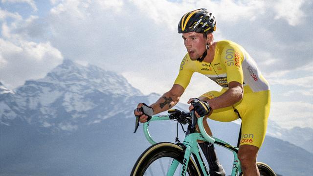 Ex-Skispringer als Tour-Überraschung: Roglic fliegt jetzt Berge hinauf