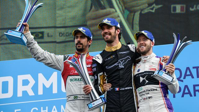 Jean-Eric Vergne edges Bird in Paris qualifying